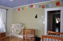 Prayer flags for Bean (room in progress)