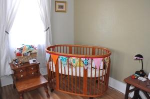 Mia's crib