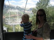 'Weeeee!' on the Gondola