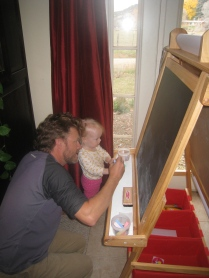 Drawing with Papa