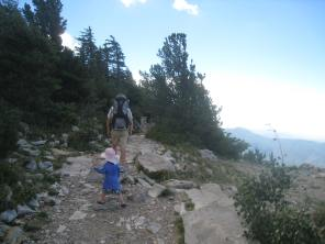 Hiking on the Crest