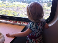 Train ride to Santa Fe