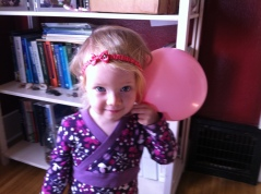 Headbands and balloons