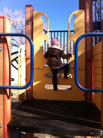 Climbing machine!
