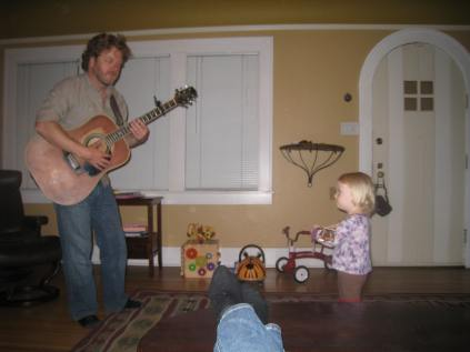 Jam session with Papa