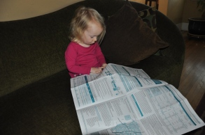 Studying up on our local water report...How is your water?