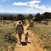 Mothers' Day hike in the foothills