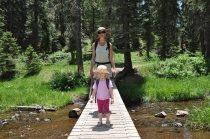 Crossing one of four bridges