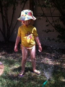 More sprinkler fun on a hot day (weeks ago)