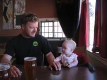 At small-town, Colorado pub